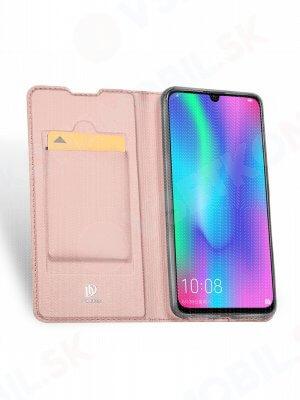 DUX Peňaženkový obal Honor 10 Lite růžový