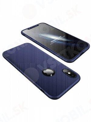360 ° Ochranný obal Apple iPhone X / XS modrý