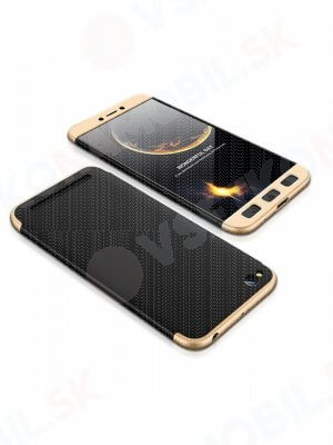 360 ° Ochranný obal Xiaomi Redmi 5A černý (zlatý)