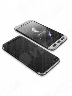 360 ° Ochranný obal Xiaomi Redmi 5A černý (stříbrný)