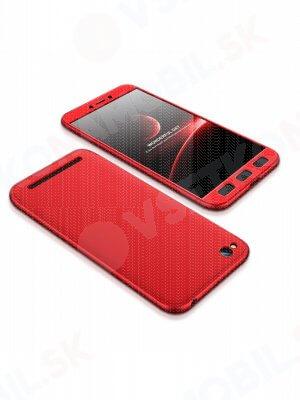360 ° Ochranný obal Xiaomi Redmi 5A červený