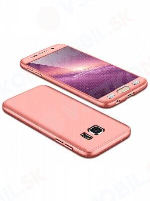 360 ° Ochranný obal Samsung Galaxy S7 růžový