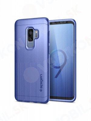SPIGEN THIN FIT 360 ° obal + 9H Ochranné sklo Samsung Galaxy S9 Plus modrý (Coral Blue)