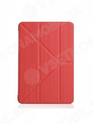 LEATHER zaklapovací obal Apple iPad Mini 4 / Mini 5 (2019) červený