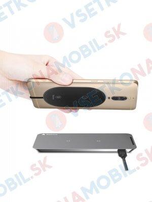 BASEUS Podložka na bezdrátové nabíjení USB Typ-C