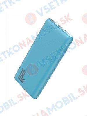 BASEUS BIPOW Externí nabíječka 10 000 mAh QuickCharge 3.0 modrá