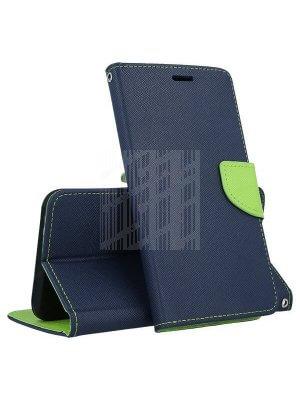 FANCY Peňaženkový obal Huawei P30 Pro modrý