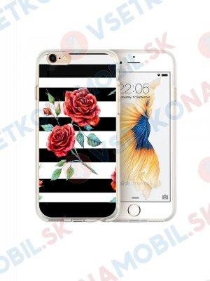 MY ART kryt Apple iPhone 6 Plus / 6S Plus BLACK WHITE (034)