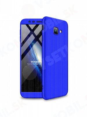 360 ° ochranný obal Samsung Galaxy J4 Plus (J415) modrý