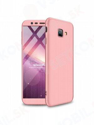 360 ° ochranný obal Samsung Galaxy J4 Plus (J415) růžový