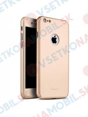 IPAKY 360 ° Obal Apple iPhone 6 Plus / 6S Plus zlatý
