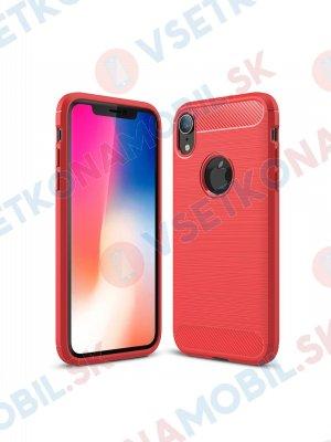 FLEXI TPU Ochranný kryt Apple iPhone XR červený