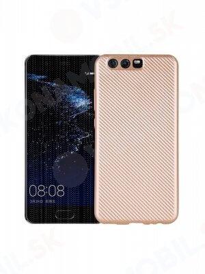 FIBER Ochranný obal Huawei P10 zlatý
