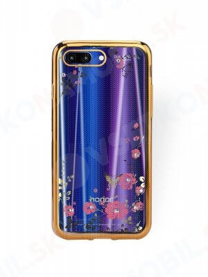 BLOOM TPU obal Honor 10 zlatý