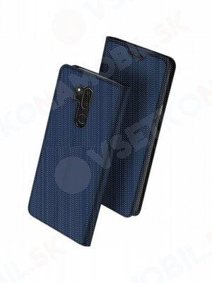 DUX Peňaženkový obal LG G7 ThinQ modrý