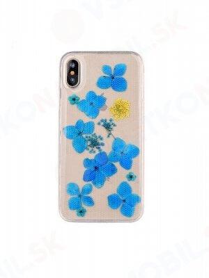 3D FLOWER Silikonový obal Apple iPhone X / XS (7)