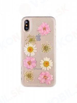 3D FLOWER Silikonový obal Apple iPhone X / XS (8)