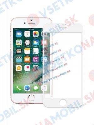 3D Tvrzené sklo Apple iPhone 7 / iPhone 8 bílé