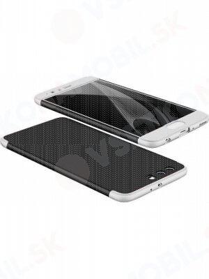360 ° Ochranný obal Huawei P10 černý (stříbrný)