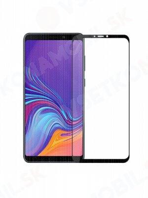 3D Tvrzené sklo Samsung Galaxy A9 2018 černé