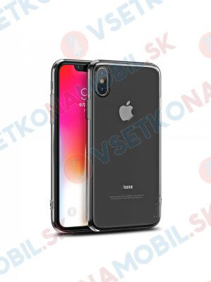 IPAKY SET Silikonový Kryt + 9H tvrzené sklo Apple iPhone X / XS