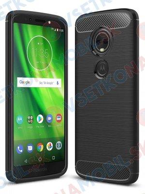 FLEXI TPU Ochranný kryt Motorola Moto G6 Plus černý