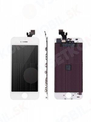 Apple iPhone 5S LCD Displej + dotyková plocha AAA bílý