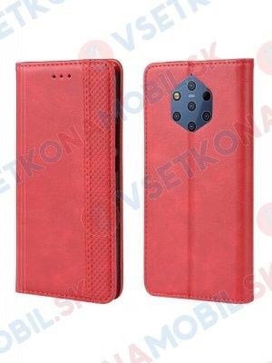 BUSINESS Peňaženkový obal Nokia 9 PureView červený