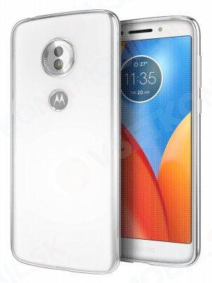 Silikonový kryt Motorola Moto G6 Plus průhledný
