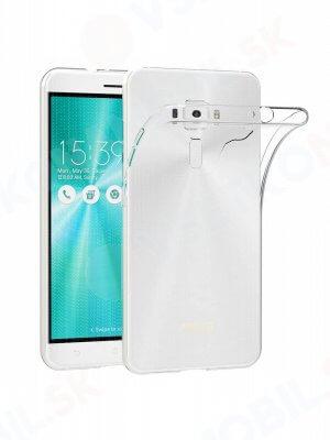 """Silikonový obal Asus ZenFone 3 (ZE552KL) 5,5 """"průhledný"""