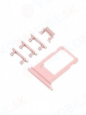 SIM Slot + boční tlačítka - Apple iPhone 6S Plus - rose gold (růžová)