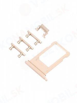 SIM Slot + boční tlačítka - Apple iPhone 6S Plus - zlatá