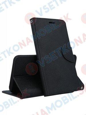 FANCY Peňaženkový obal Huawei Y6 2018 černý