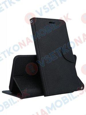 FANCY Peňaženkový obal Huawei P30 Pro černý