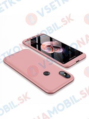 360 ° Ochranný obal Xiaomi Mi 6X / Mi A2 růžový
