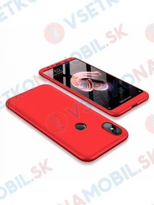 360 ° Ochranný obal Xiaomi Mi 6X / Mi A2 červený