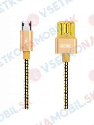 REMAX SERPENT RC-080m Datový kabel Micro USB zlatý