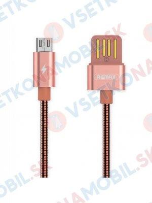 REMAX SERPENT RC-080m Datový kabel Micro USB růžový