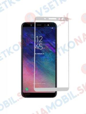3D Tvrzené sklo Samsung Galaxy A6 (A600) bílé
