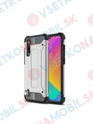 TOUGH Ochranný kryt Xiaomi Mi 9 Lite stříbrný