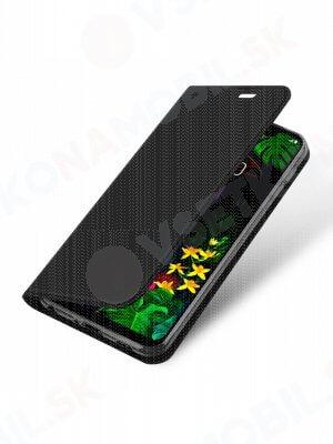 DUX Peňaženkový obal LG G8s černý
