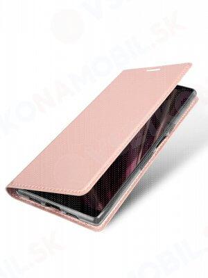 DUX Peňaženkový obal Sony Xperia 10 růžový