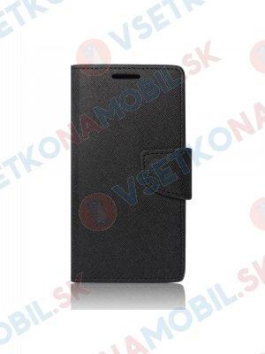 FANCY Knížkové pouzdro Samsung Galaxy A6 černé