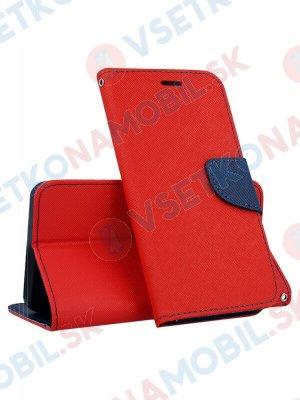 FANCY Peňaženkový obal LG G7 ThinQ červený
