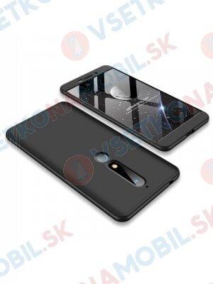 360 ° Ochranný obal Nokia 6.1 černý