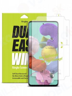 RINGKE DUAL EASY 2x Ochranná fólia Samsung Galaxy A51