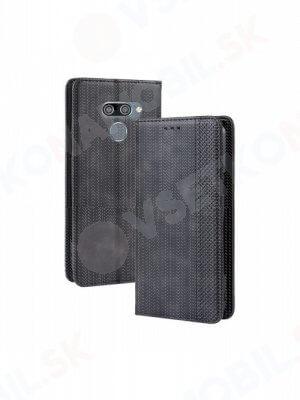 BUSINESS Peňaženkový obal LG Q60 / LG K50 černý