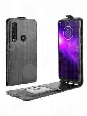 Vyklápěcí pouzdro Motorola Moto G8 Play / One Macro černé