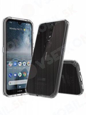 SHOCK Extra odolný kryt Nokia 4.2 průhledný