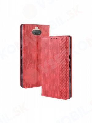 BUSINESS Peňaženkový obal Sony Xperia 10 červený